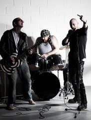 groupe rock doigt d'honneur