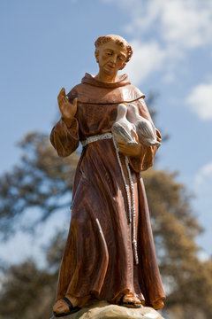 Statue of Saint Francis of Assisi