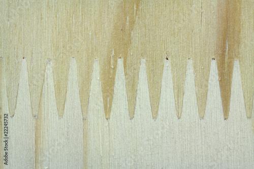 assemblage panneaux bois bouvetage en dents de scie photo libre de droits sur la banque d. Black Bedroom Furniture Sets. Home Design Ideas