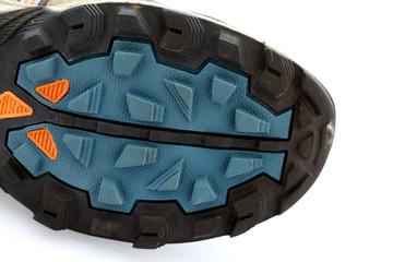 suola di una scarpa da trail