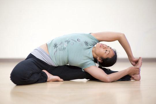 Seated Yoga Twist