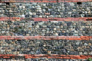 Sfondo di pietre e mattoni antichi