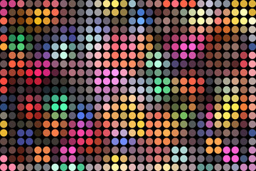 Abstract Multicolor Dots Background