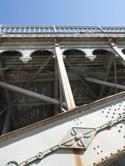 Puente de hierro en Salamanca