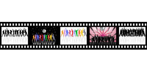 Filmstreifen - Dancing