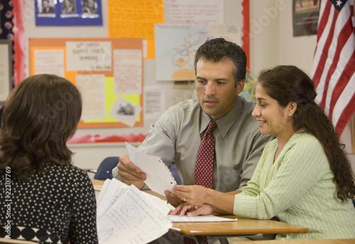 Teacher dating student