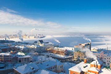 Strelka view, Nizhny Novgorod