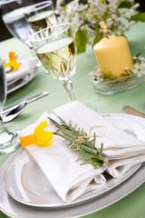Daffodil table settings