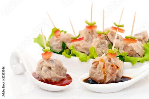 Bouch es de viande vapeur cuisine r unionnaise for La cuisine reunionnaise