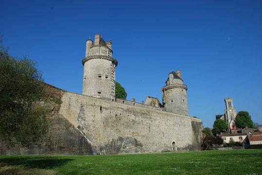 ch^teau d'Apremont en Vendée