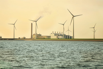 Windmills source of ecological energy