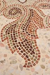 mosaico alla veneziana, pavimento