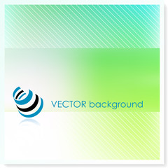 env on Vector Background
