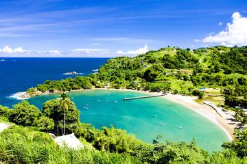 Fotobehang Caraïben Parlatuvier Bay, Tobago