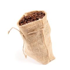 Kaffeesäckchen, stehend