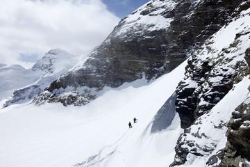 climbing in Alps