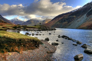 Lake District National Park / Cumbria (UK) - Wast Waters