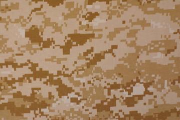 Textures, desert digital camouflage