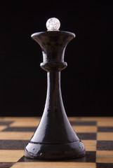 black chess queen