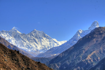 Nepal / Himalaya - Lhotse & Mount Everest