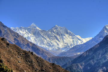 Nepal / Himalaya - Lhotse & Mount Everest