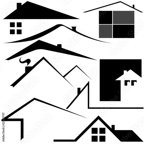 """logo house"" Stock image and royalty-free vector files on ..."