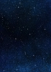 Papiers peints Nuit stars in space or night sky
