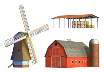 Rural buildings