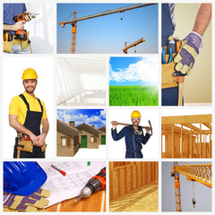building industry background