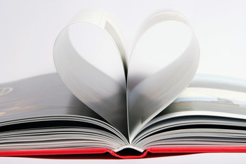 heart of book sheets