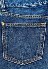 Jeans pocket.