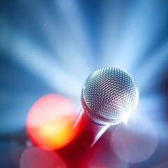 pop music microphone