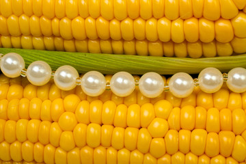 Corn and pearls