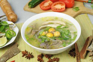 Vietnamese noodles pho
