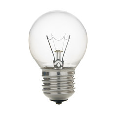 electric bulb isolated on white background