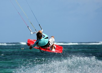 kite surfeur