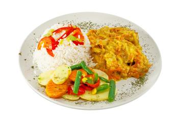 Danie obiadowe - kurczak orientalny