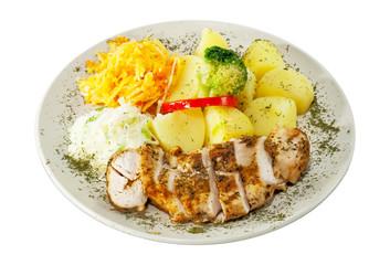 Danie obiadowe - pierś z kurczaka