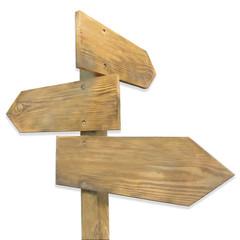 panneaux en bois de direction ombrés