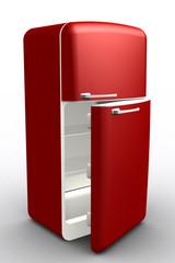 Nevera fridge red