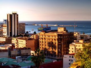 Vista de Valparaíso, Chile