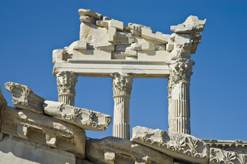 Ruins of Pergamo, southwest Turkey