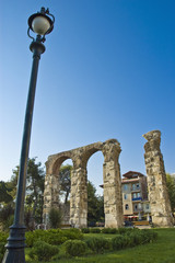The city of Selcuk, near Efes, Turkey