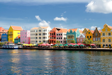 Wall Mural - Willemstad auf Curacao