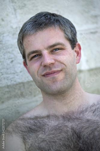 quotjeune homme charmant et poiluquot photo libre de droits sur