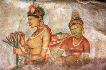 Peinture rupestre de Sigiriya