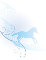 blue horse spirit