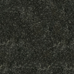 Seamless black granite texture