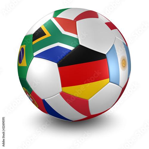 Wm 2010 Ball Mit Freistellpfad Stockfotos Und Lizenzfreie Bilder