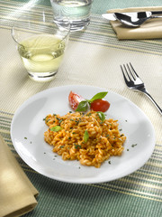 risotto à la tomate